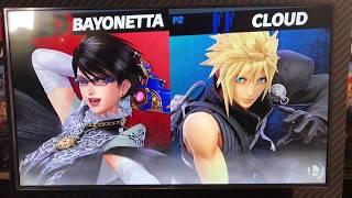 iBexal (Bayo) vs ORG ramble (Cloud) - Armageddon Expo 2018 Super Smash Bros Ultimate Demo