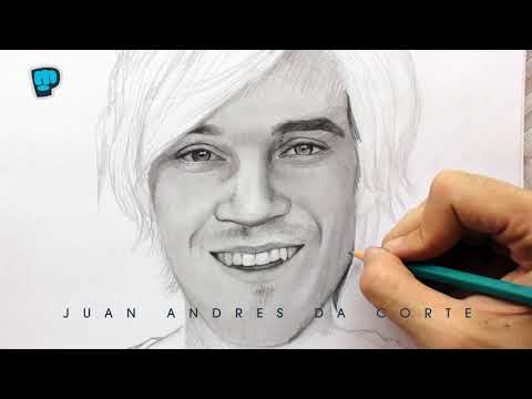 Drawing PewDiePie By Juan Andres