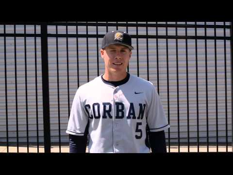 Corban Baseball Post-Game Interview vs. Menlo - Daniel Orr