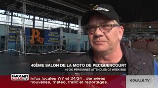 40ème anniversaire du salon de la moto à Pecquencourt