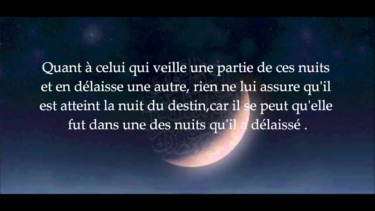 nuit du destin ramadan 2015