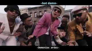 Bruno Mars - Uptown Funk [Subtitulado Ingles - Español] Video Oficial