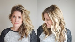 How To Refresh Hair for Day Two