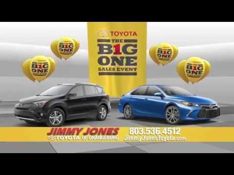 Its The Big One at Jimmy Jones Toyota in Orangeburg!!