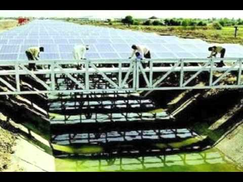 India Solar Canal Projects To Save Mass Water