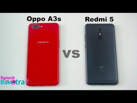Oppo A3s vs Redmi 5 Speed Test and Camera Comparison