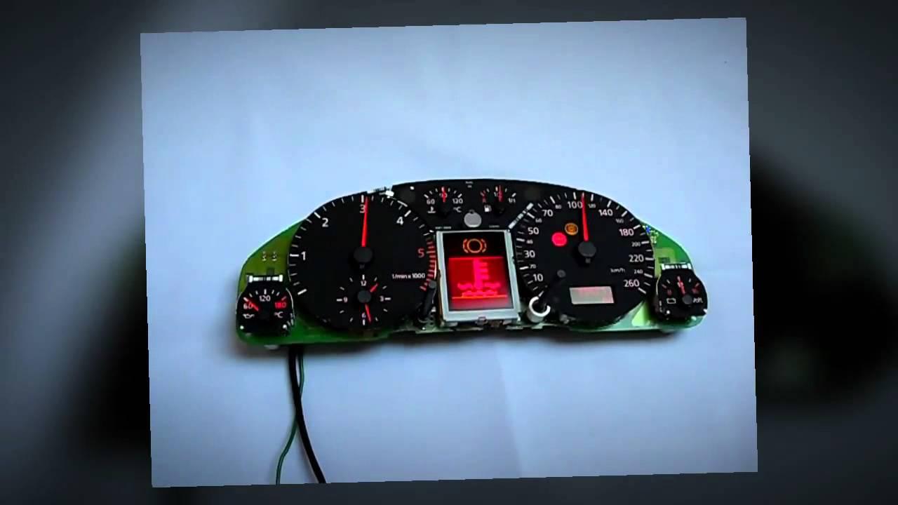 Naprawa Licznika Audi A6 Wymiana Wyświetlacza Lcd Fis