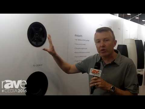 CEDIA 2016: Sonance Highlights Professional Series of In-Ceiling, Pendant and Surface Mount Speakers