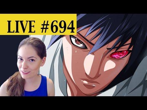 LIVE REACTION: NARUTO chapter 694!!! - SASUKE 'S REVOLUTION!!