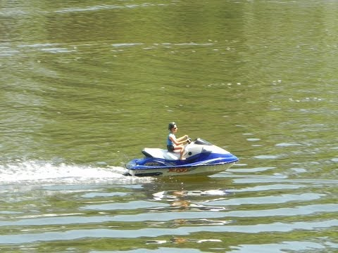 Radio Controlled RC Kawasaki Jet Ski Brushless 3s FOR SALE