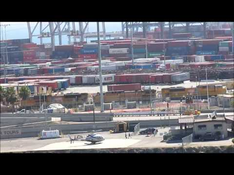 Trains in the ports of Long Beach and some other train action 7-8-13 & 7-12-13