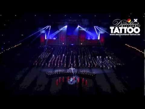 Finale Deutschland Military Tattoo Auf Schalke Teil 1 Das Steigerlied video