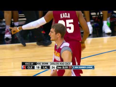 Cleveland Cavaliers vs Los Angeles Lakers Summer League Recap