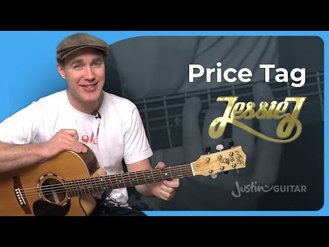 How to play Price Tag by Jessie J (Guitar Lesson SB-207)