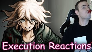 All Danganronpa 2 Deaths And Executions Reactions Blind Dr2 Goodbye Despair