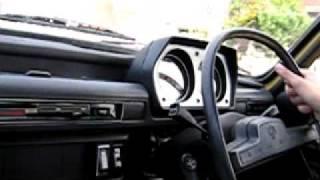 Austin Allegro uphill drive.