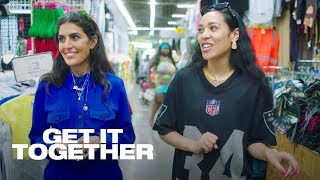 Aleali May Shops with Melody Ehsani at Slauson Swap Meet | Get It Together