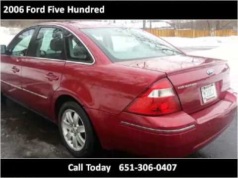 2006 Ford Five Hundred Used Cars Spring Lake Park MN