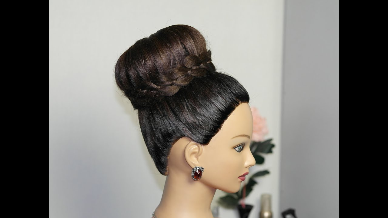 Updo Hairstyles For Long Hair Youtube : Bridal updo. Wedding prom hairstyles for long hair. ???????? ...