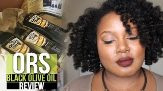 Review and Demo: ORS Black Olive Oil Repair 7 | Natural Hair | Ammina Rose