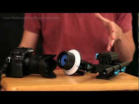 GH2 DSLR Rig: Part 1 (Rail & Follow Focus)