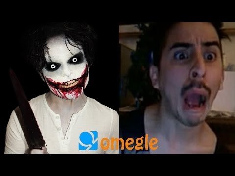 Jeff The Killer Goes On Omegle! video