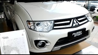 The Last Pajero Sport before All New Pajero Sport