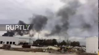 USA: Chlorine leak at DOW Chemical Plant near Baton Rouge