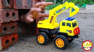Trucks Construction Vehicles for Kids - Assembly Excavator Truck Toys for Kids