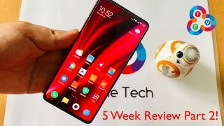 Redmi K20 Pro 5 Week Review Part 2 - 5 More Favorite Things!