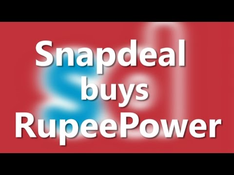 Snapdeal buys online financial services firm RupeePower