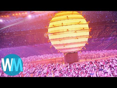 Top 10 Olympic Opening Ceremonies