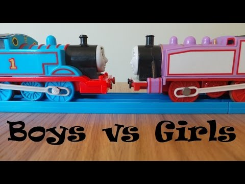 Thomas And Friends - Boys Vs Girls video