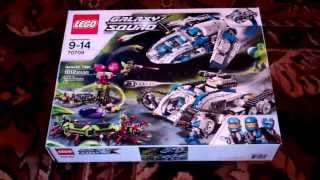 "Lego Galaxy Squad 70709 ""Galactic Titan"" Unboxing and fast build!"