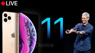 Apple iPhone 11 Event - LIVE September 2019 Keynote!