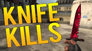CS:GO - BEST PRO KNIFE KILLS EP 2 / 2016 EDITION