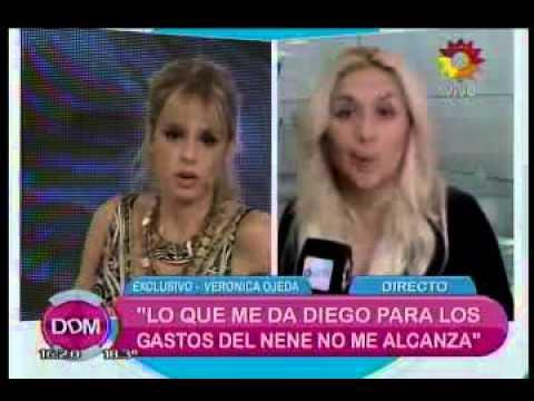 La nota que provocó la ira de Maradona y su intento por bajar a Ojeda del Bailando