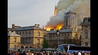 Incendie de Notre-Dame de Paris : la cathédrale en flammes