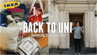UNI VLOG: Moving Into My Student House + HUGE University Homeware Haul | Jack Edwards