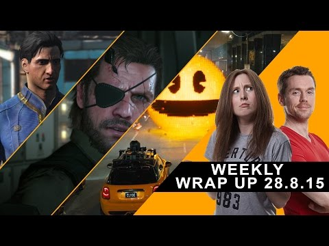 The GamesRadar Weekly Wrap Up talks Fallout 4, MGS 5 and Nintendo movies