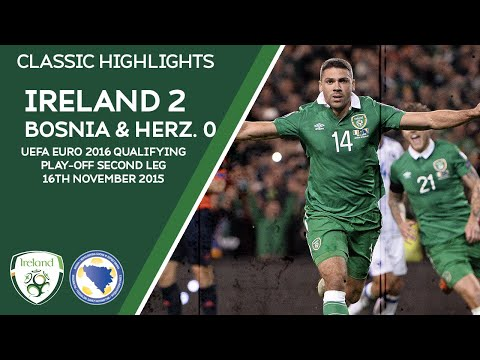 CLASSIC HIGHLIGHTS | Ireland 2-0 Bosnia - UEFA Euro 2016 Qualifying Play-Off Second Leg