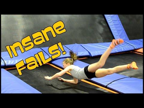 Gymnastics At Sky Zone  Trampoline Park | Bethany G