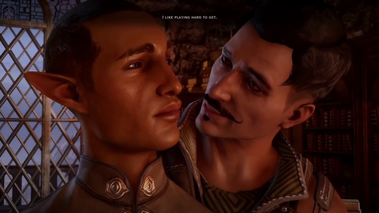 from Triston dragon age origins gay scene