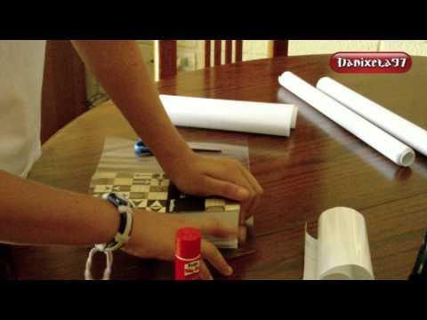 como forrar cuadernos con papel adhesivo- Danixela97