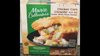 Marie Callender's Chicken Corn Chowder Pot Pie Review