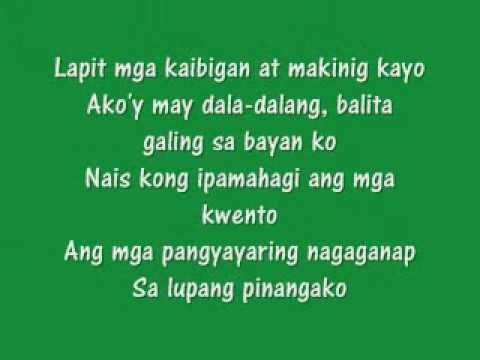 Black Eyed Peas - The Apl Song (tagalog)