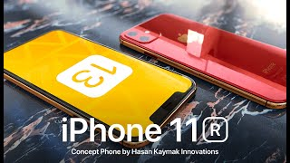 Apple iPhone 11R • OFFICIAL DESIGN ANIMATION | 4K ►DBHK