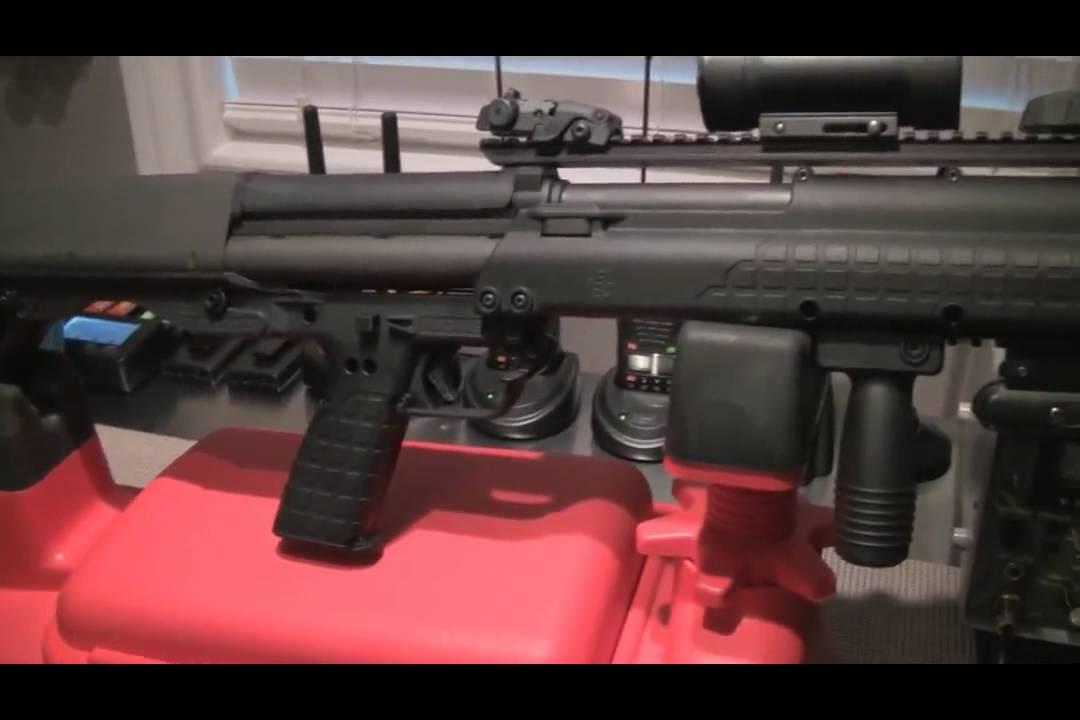 Kel-tec Ksg 15 Round Shotgun Video Kel-tec Ksg 15 Round Shotgun