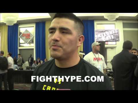 BRANDON RIOS SAYS PROVODNIKOV VS DEMARCO IS A JOKE INSISTS HE CAN MAKE 140