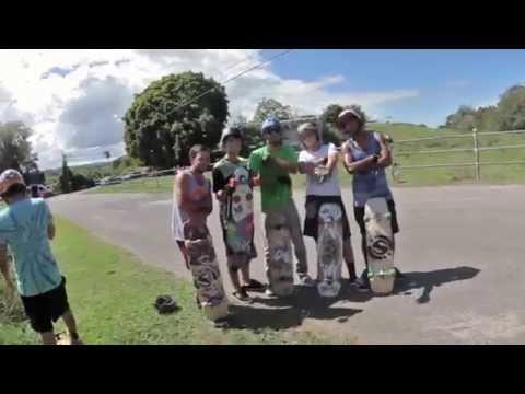 Puerto Rico Downhill: Guajataka w/ Original Skateboards